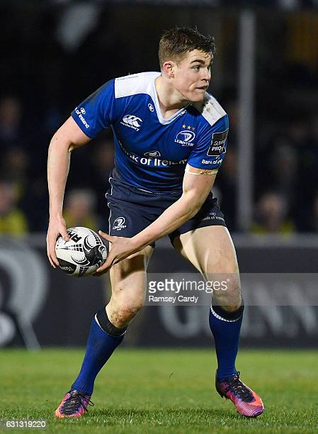 Dublin Ireland 6 January 2017 Garry Ringrose of Leinster during the Guinness PRO12 Round 13 match between Leinster and Zebre at the RDS Arena in...