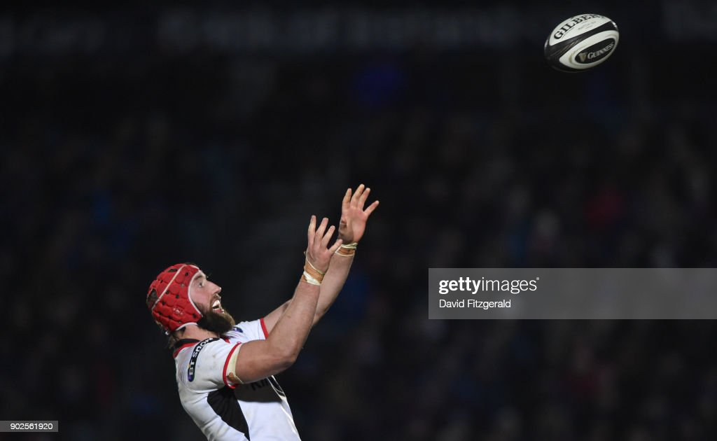 Dublin , Ireland - 6 January 2018; Pete Browne of Ulster during the Guinness PRO14 Round 13 match between Leinster and Ulster at the RDS Arena in Dublin.