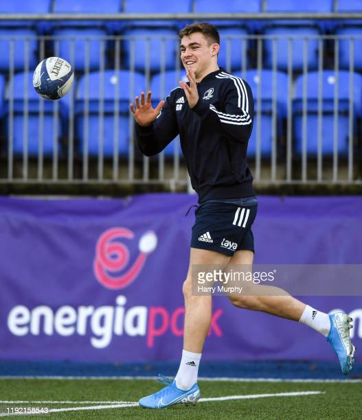 Dublin Ireland 6 January 2020 Garry Ringrose during a Leinster Rugby Squad Training at Leinster Rugby Headquarters in Energia Park in Donnybrook...