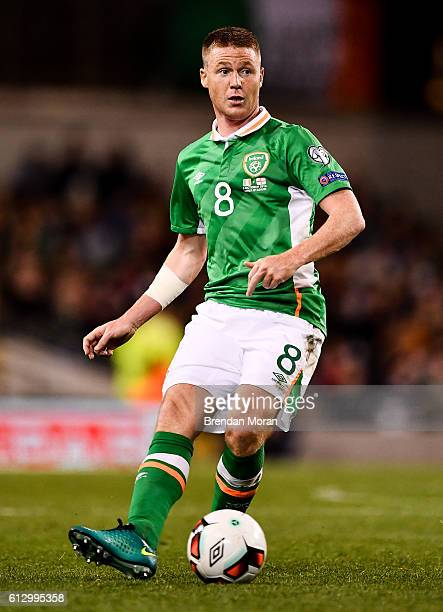 Dublin Ireland 6 October 2016 James McCarthy of Republic of Ireland during the FIFA World Cup Group D Qualifier match between Republic of Ireland and...