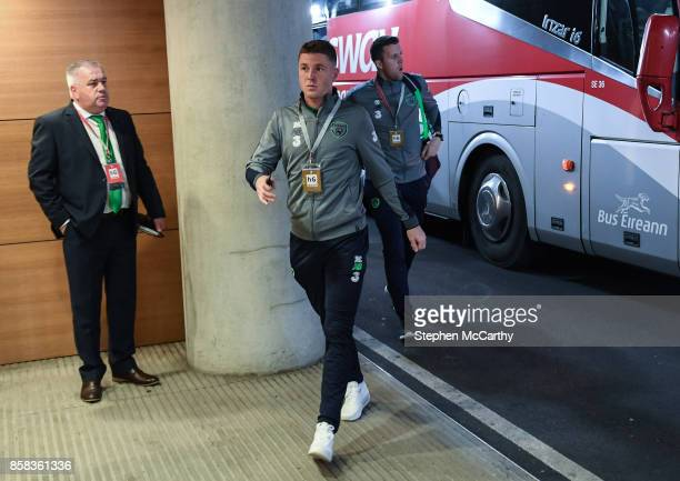 Dublin Ireland 6 October 2017 James McCarthy of the Republic of Ireland prior to the FIFA World Cup Qualifier Group D match between Republic of...