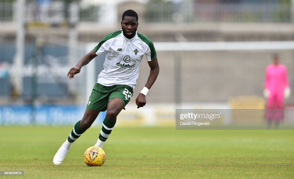 Dublin , Ireland - 7 July 2018; Odsonne Edouard of Glasgow Celtic during the Soccer friendly between Shamrock Rovers and Glasgow Celtic at Tallaght Stadium in Tallaght, Co. Dublin.