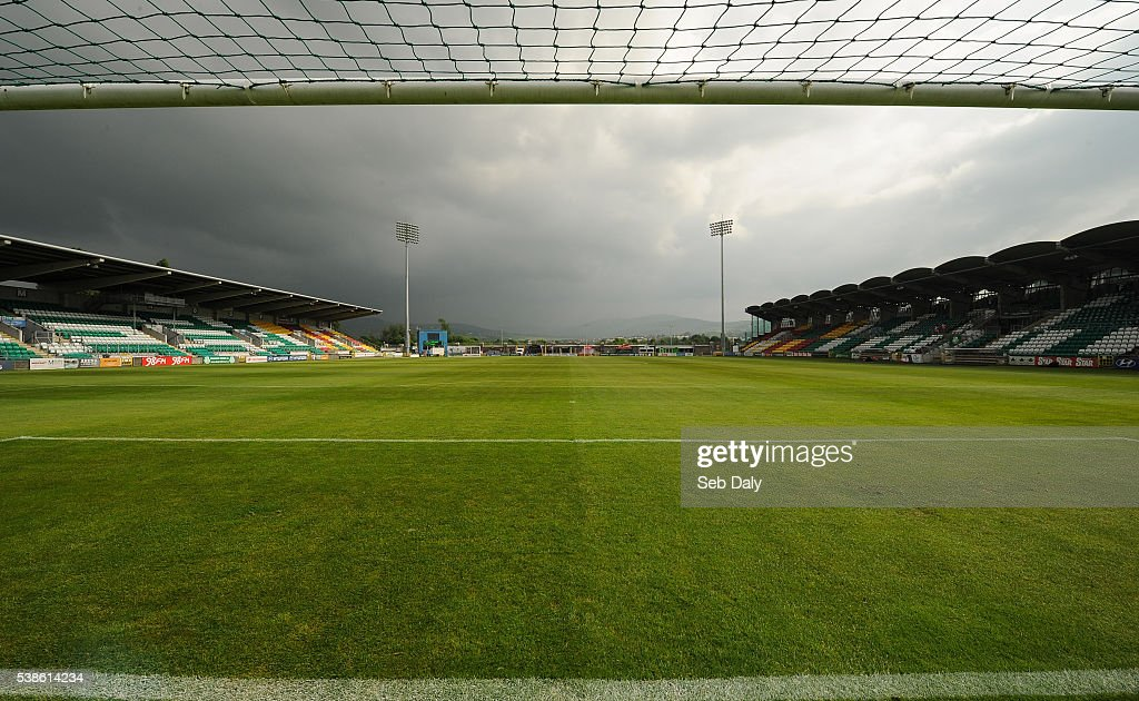 Dublin , Ireland - 7 June 2016; A general view of Tallaght Stadium ahead of the Women's 2017 European Championship Qualifier between Republic of Ireland and Montenegro in Tallaght Stadium, Tallaght, Co. Dublin.