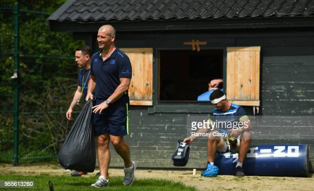 Dublin Ireland 7 May 2018 Senior coach Stuart Lancaster arrives for Leinster Rugby squad training at UCD in Dublin