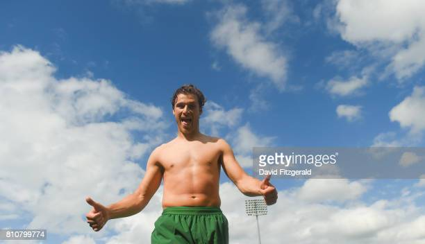 Dublin Ireland 8 July 2017 Erik Sviatchenko of Celtic following the friendly match between Shamrock Rovers and Glasgow Celtic at Tallaght Stadium in...