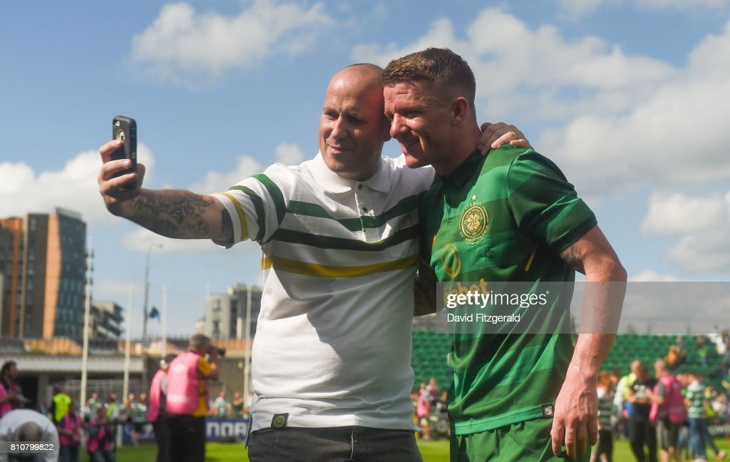 Shamrock Rovers v Glasgow Celtic - Club Friendly : News Photo