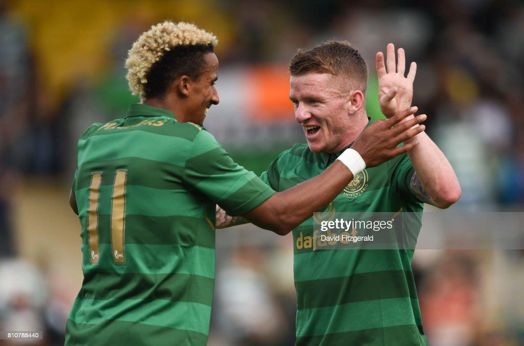 Shamrock Rovers v Glasgow Celtic - Club Friendly : News Photo