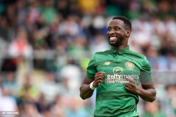 Dublin Ireland 8 July 2017 Moussa Dembele of Glasgow Celtic during the friendly match between Shamrock Rovers and Glasgow Celtic at Tallaght Stadium...