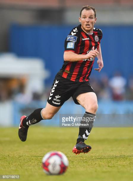 Dublin Ireland 8 June 2018 Derek Pender of Bohemians during the SSE Airtricity League Premier Division match between Bohemians and Derry City at...