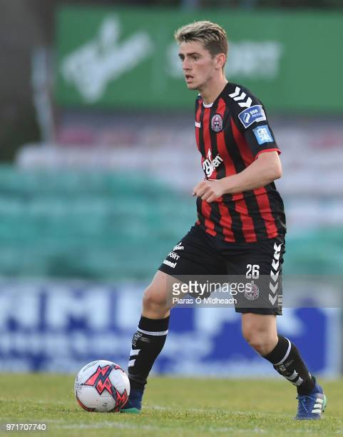 Dublin Ireland 8 June 2018 Dylan Watts of Bohemians during the SSE Airtricity League Premier Division match between Bohemians and Derry City at...