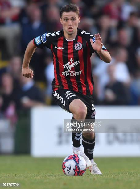Dublin Ireland 8 June 2018 Eoghan Stokes of Bohemians during the SSE Airtricity League Premier Division match between Bohemians and Derry City at...
