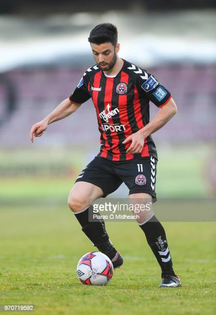Dublin Ireland 8 June 2018 Kevin Devaney of Bohemians during the SSE Airtricity League Premier Division match between Bohemians and Derry City at...