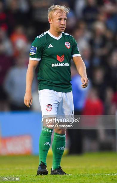 Dublin Ireland 8 June 2018 Nicky Low of Derry City during the SSE Airtricity League Premier Division match between Bohemians and Derry City at...