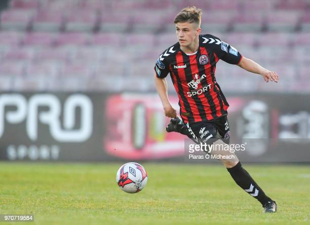 Dublin Ireland 8 June 2018 Paddy Kirk of Bohemians during the SSE Airtricity League Premier Division match between Bohemians and Derry City at...