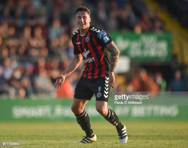 Dublin Ireland 8 June 2018 Rob Cornwall of Bohemians during the SSE Airtricity League Premier Division match between Bohemians and Derry City at...