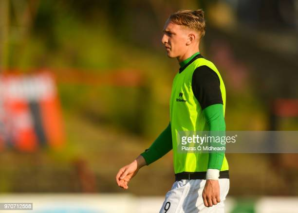 Dublin Ireland 8 June 2018 Ronan Curtis of Derry City before the SSE Airtricity League Premier Division match between Bohemians and Derry City at...