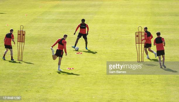 Dublin , Ireland - 8 June 2020; Andre Wright during a Bohemian FC training session at Dalymount Park in Dublin. Following approval from the Football...
