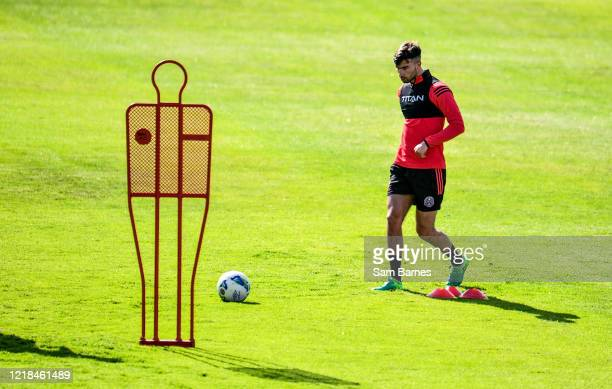 Dublin , Ireland - 8 June 2020; Danny Mandroiu during a Bohemian FC training session at Dalymount Park in Dublin. Following approval from the...