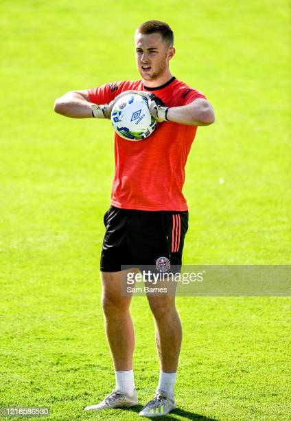Dublin , Ireland - 8 June 2020; Seán Bohan during a Bohemian FC training session at Dalymount Park in Dublin. Following approval from the Football...