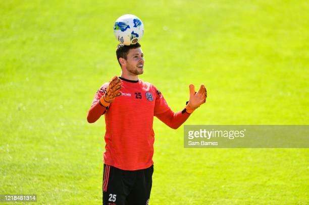 Dublin , Ireland - 8 June 2020; Stephen McGuinness during a Bohemian FC training session at Dalymount Park in Dublin. Following approval from the...