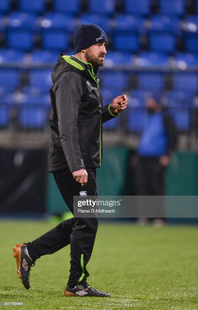 Dublin , Ireland - 9 February 2018; S&C coach Martin Kennedy before the U20 Six Nations Rugby Championship match between Ireland and Italy at Donnybrook Stadium, in Dublin.