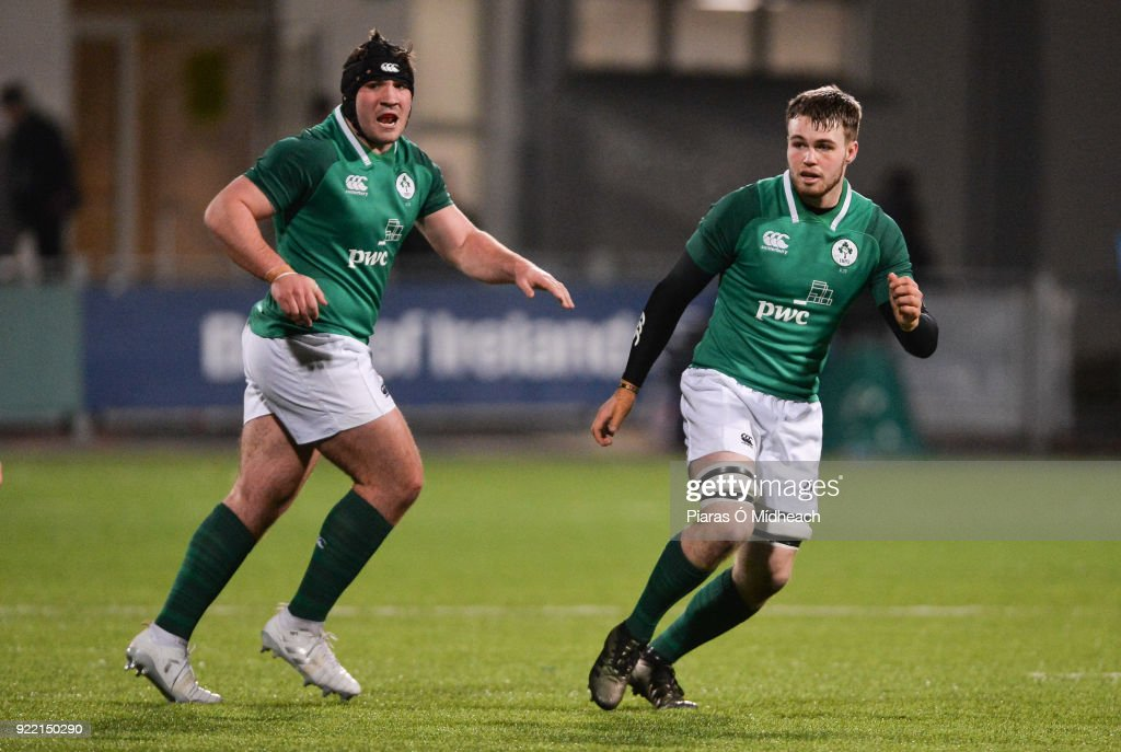 Ireland v Italy - U20 Six Nations Rugby Championship : News Photo