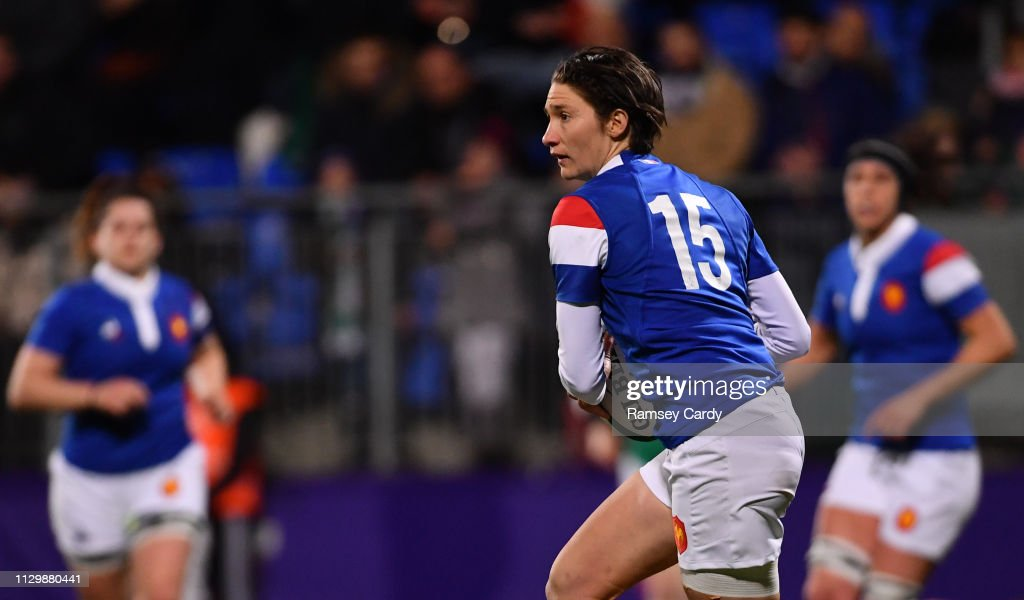 Ireland v France - Women's Six Nations Rugby Championship : Photo d'actualité