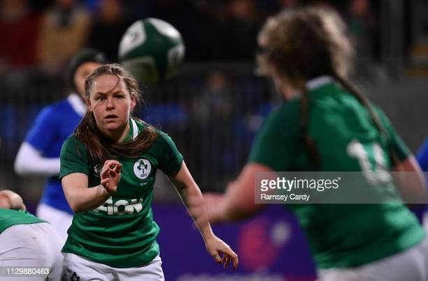 Dublin , Ireland - 9 March 2019; Nicole Cronin of Ireland during the Women's Six Nations Rugby Championship match between Ireland and France at...