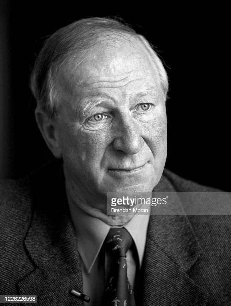 Dublin Ireland 9 May 2002 Former Republic of Ireland manager Jack Charlton sits for a portrait in Dublin