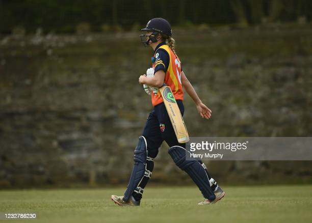 Dublin , Ireland - 9 May 2021; Gaby Lewis of Scorchers walks after being stumped during the third match of the Arachas Super 50 Cup between Scorchers...