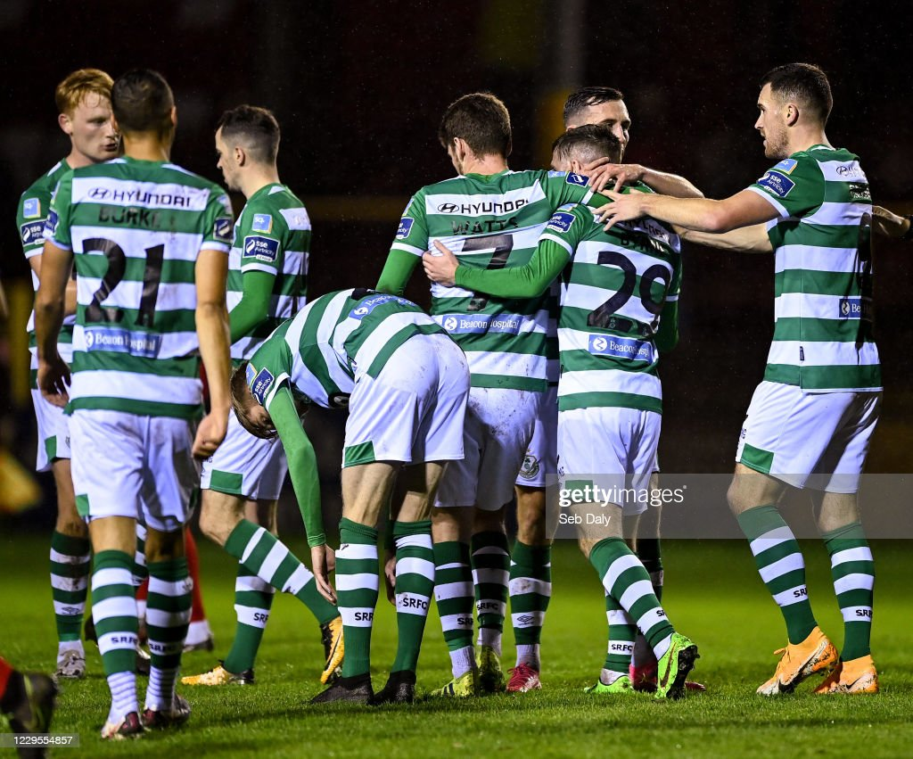 Shelbourne v Shamrock Rovers - SSE Airtricity League Premier Division : News Photo
