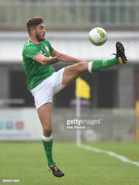 Dublin Ireland 9 October 2017 Corey Whelan of Republic of Ireland during the UEFA European U21 Championship Qualifier match between Republic of...