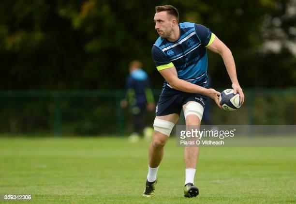 Dublin Ireland 9 October 2017 Leinster's Jack Conan during squad training at Thornfields in UCD Belfield Dublin