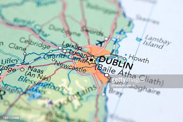 dublin, ireland - national border stock pictures, royalty-free photos & images