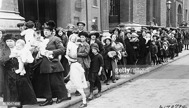 Irish Refugees Pour Into Dublin A large number of refugees from Belfast arriving in Dublin where they were quartered in Marlborough Hall The recent...