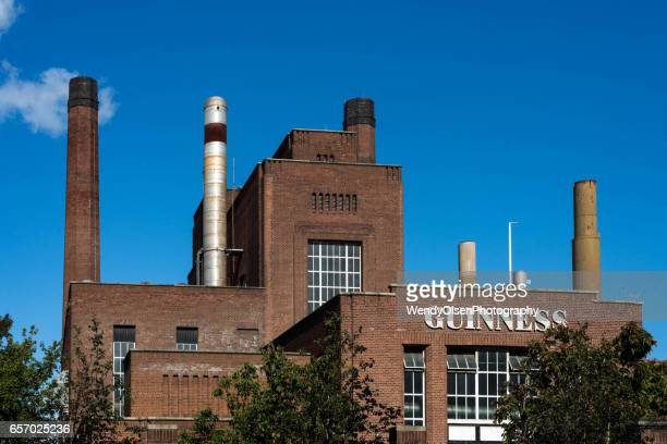 dublin, republic of ireland, ireland. october 1, 2016. guinness factory in dublin. - guinness stock photos and pictures