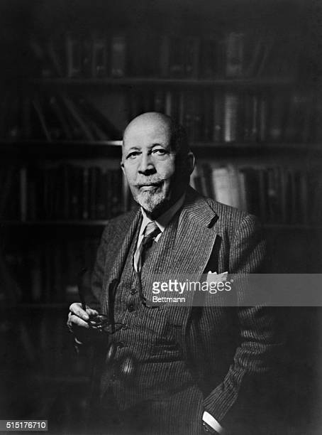 WEB DuBois American educator editor and writer who helped create the National Association for the Advancement of Colored People Undated Photograph