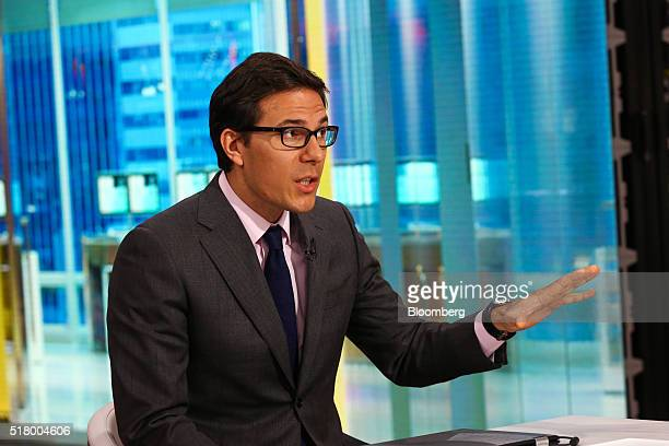 Dubravko LakosBujas head of US equity strategy at JPMorgan Chase Co speaks during a Bloomberg Television interview in New York US on Tuesday March 29...
