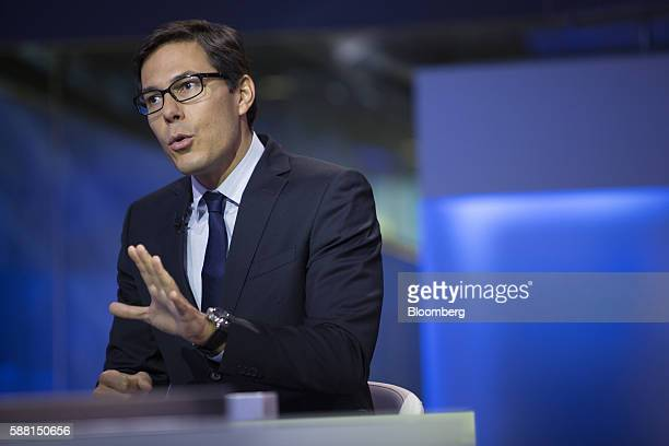 Dubravko LakosBujas head of US equity strategy at JPMorgan Chase Co speaks during a Bloomberg Television interview in New York US on Wednesday Aug 10...