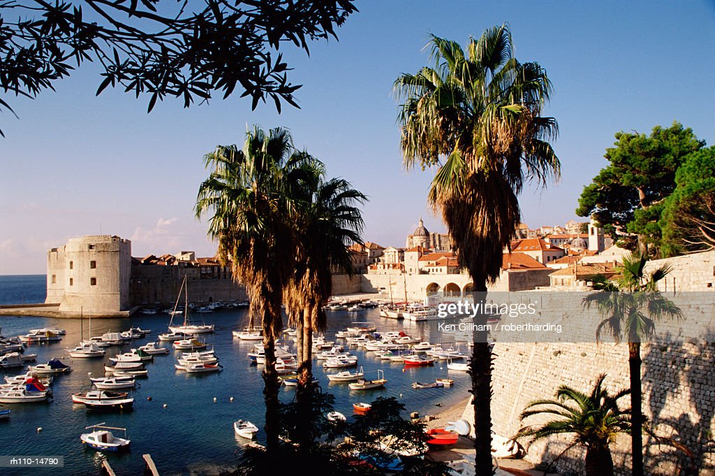 Dubrovnik, Adriatic coast, Croatia, Europe : Foto de stock