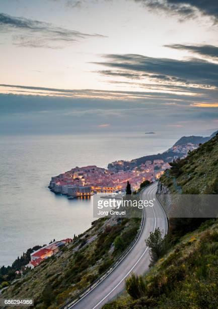 Dubrovnik at dusk