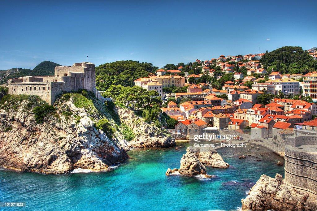 Dubrovnik Harbor : Stock Photo