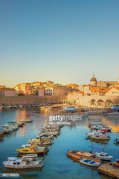 Dubrovnik Harbour sunrise