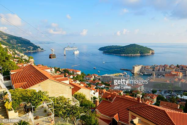 Dubrovnik landscape and Adriatic coast