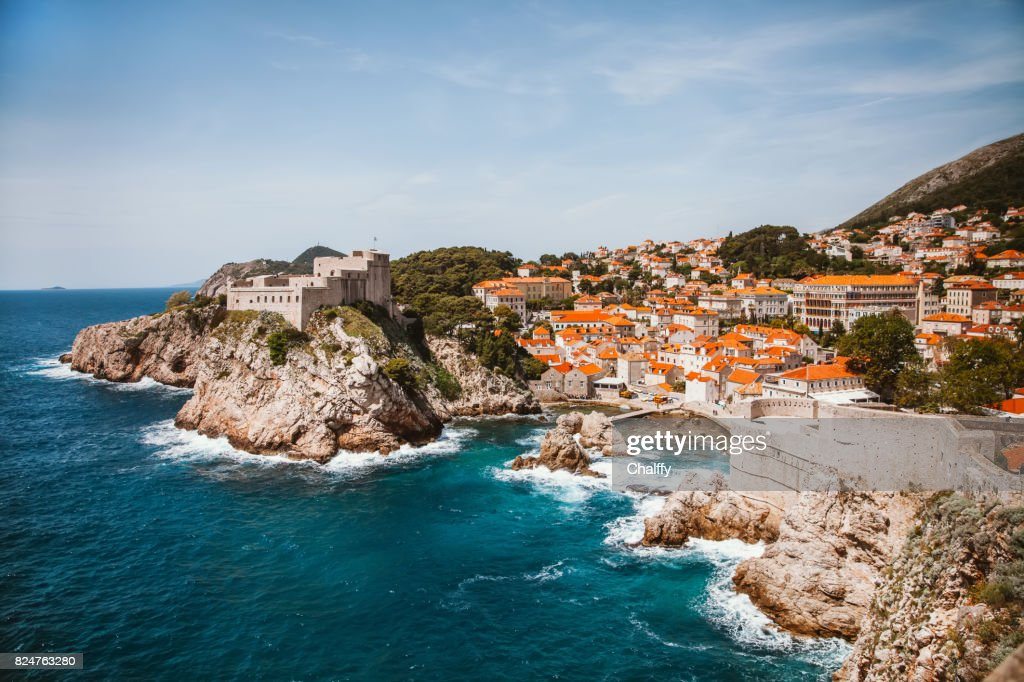 Dubrovnik Old Town : Stock Photo