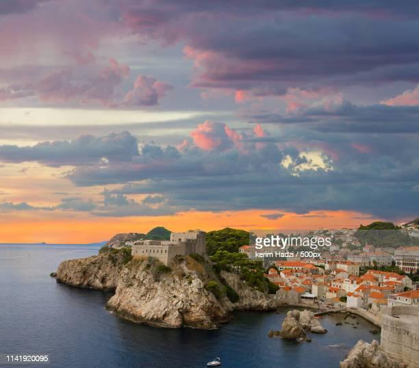 dubrovnik - dalmatia region croatia stock pictures, royalty-free photos & images