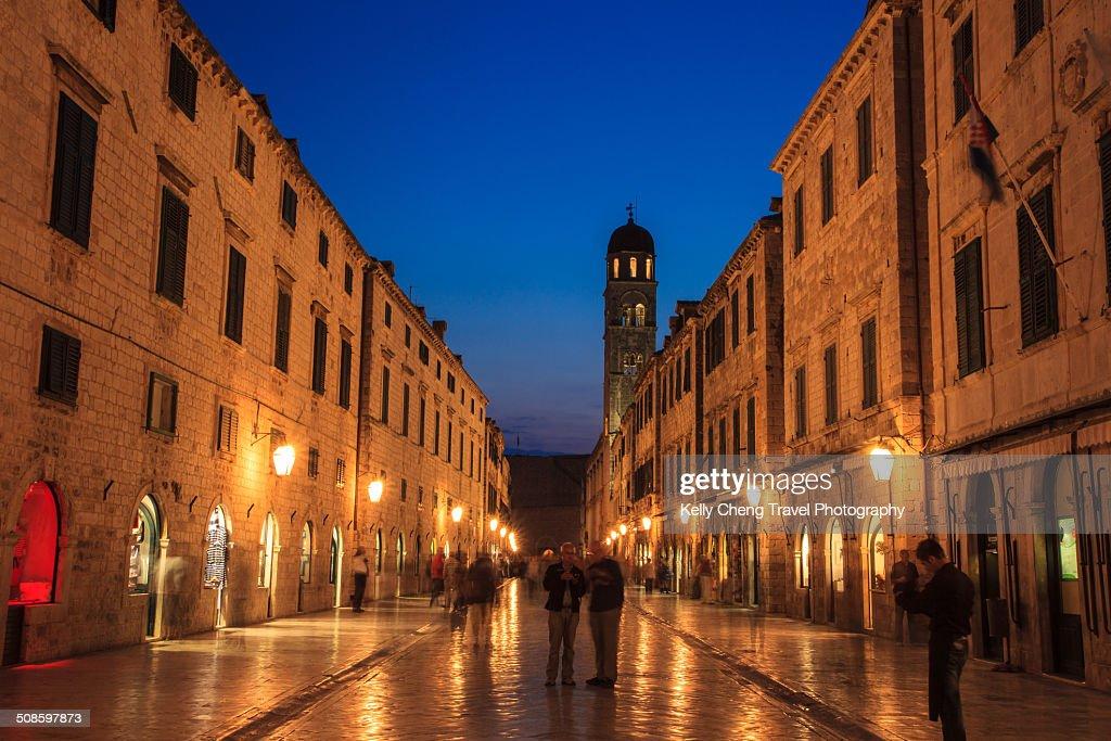 Dubrovnik Placa : Stock Photo