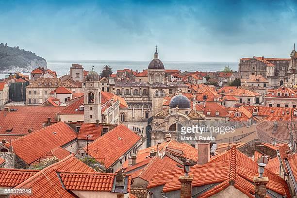 Dubrovnik Town Rooftops