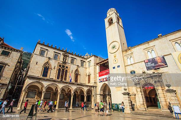 Dubrovnik's main pedestrian thoroughfare. Is a melange of cafés and shops with outstanding monuments at either end. Churches, monasteries and museums...