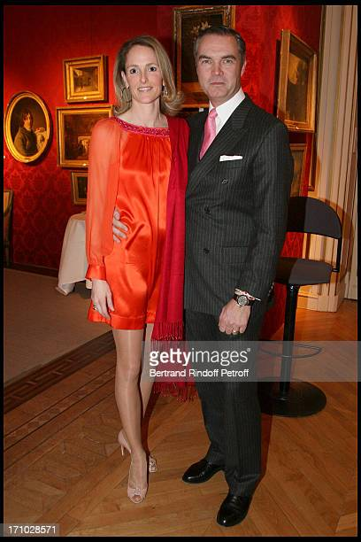 Duc and Duchesse Philipp De Wurttemberg at Dinner Held In Honour Of Princesse De Beauvau Craon The Presidente In Honour Of Sotheby's In France At The...